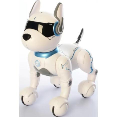 Интерактивная игрушка робот собака на радиоуправлении c голосовым управлением A001