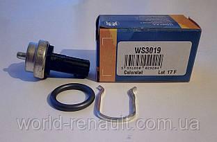 VERNET (Франция) WS3019 - Датчик охлаждающей жидкости на Рено Меган III 1.5dci, 1.6i 16V