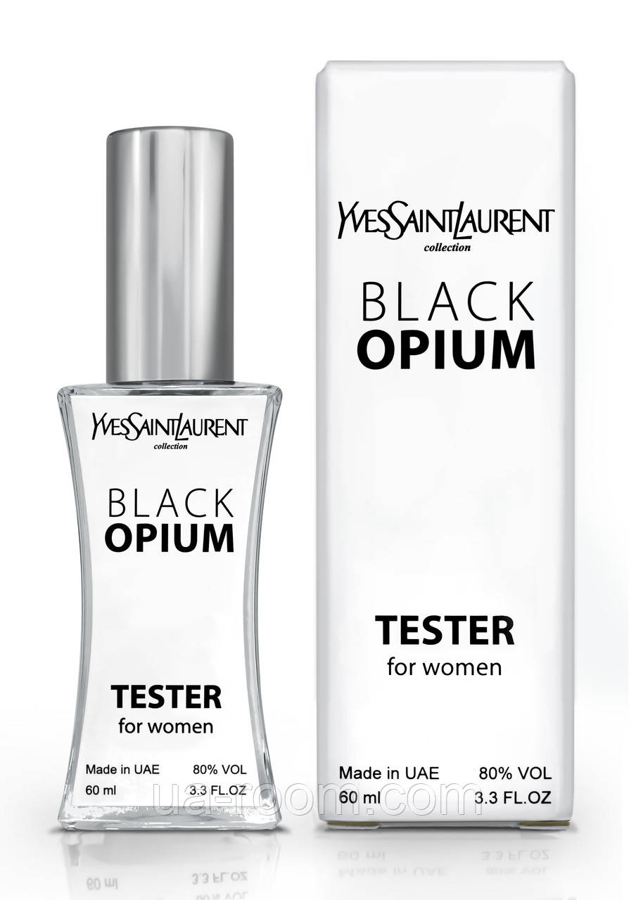 Тестер женский Yves Saint Laurent Black Opium, 60 мл.