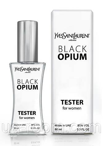 Тестер женский Yves Saint Laurent Black Opium, 60 мл., фото 2