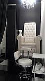 Педикюрное кресло трон Queen, фото 10