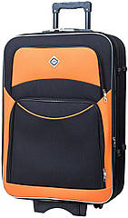 Валіза Bonro Style маленька чорно-оранжева (10011906)