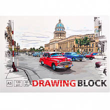 Скетчбук для рисования А5 40 л