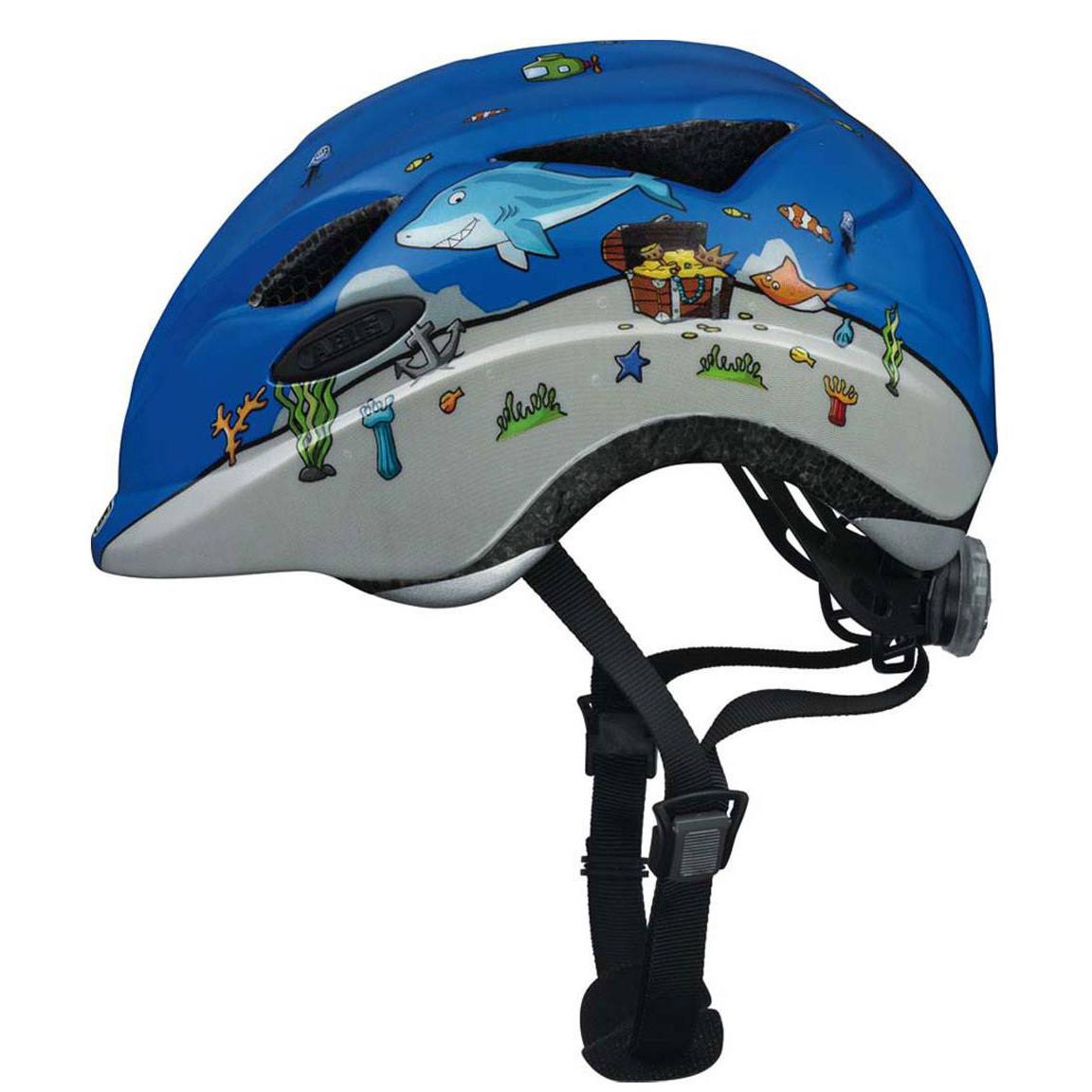 Велосипедний дитячий шолом ABUS ANUKY S 46-52 Diver