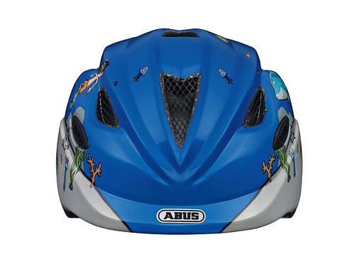 Велосипедний дитячий шолом ABUS ANUKY S 46-52 Diver, фото 2