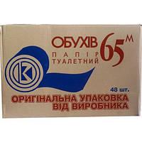 Туалетная бумага «Обухов» 65м 48шт