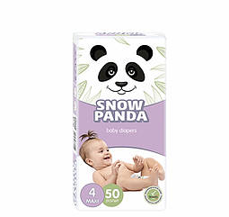 Подгузники Снежная панда Maxi 4 (7-18 кг), 50 шт. SNOW PANDA