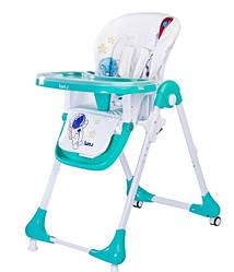 Кресло для кормления Caretero Luna Детский стульчик (Mint)