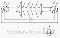 НСК 120-3,3-7-Ц (НСПКр 120-3/0,6 УХЛ 1) Изолятор