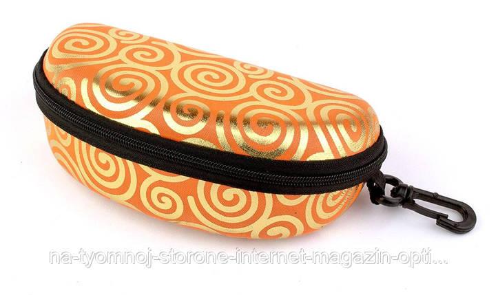 Футляр для солнцезащитных очков  СЗ змейка цветной 09, фото 2