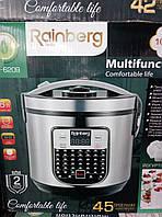 Мультиварка RAINBERG RB 6209 45 программ 6л+ЙОГУРТНИЦА