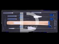 Набор инструментов молоток, зубила, выколотки и керн 8 предметов (EVA ложемент), KING TONY 9-90118PRV