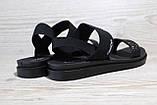 Чорні жіночі босоніжки на танкетці. Розміри 36-41, фото 2