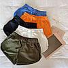 Женские трикотажные короткие шорты (40, 42, 44, 46, 48 в расцветках), фото 3