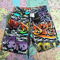 Модные шорты для мальчика GRAFFITI 5-10 лет