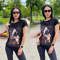 Красивая футболка женская, фото 1