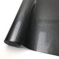 Авто пленка CARLIKE 5D Carbon 20 x 152см 180µm под карбон глянцевая декоративная карбоновая (AVp-008-20), фото 1