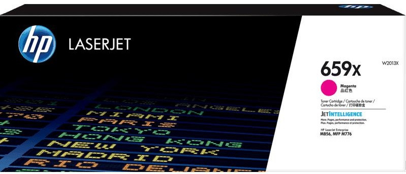 Тонер-картридж HP 659A CLJ Enterprise M776/M856 Magenta 2900 страниц