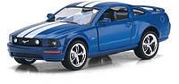 Машина. Автомодель металлическая 1:38 Ford Mustang GT 2006 КТ5091WF Kinsmart