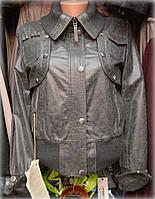 Женская кожаная курточка (молодежка)