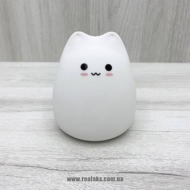 Силиконовый ночной светильник Little Cat LJC-124 (White), фото 2