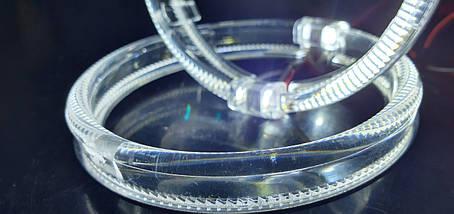 "80 мм, кольцо подсветки ""кристалл"", белый 1шт., фото 3"