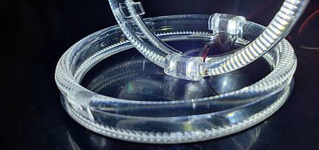 "80 мм, кольцо подсветки ""кристалл"", белый 1шт., фото 2"