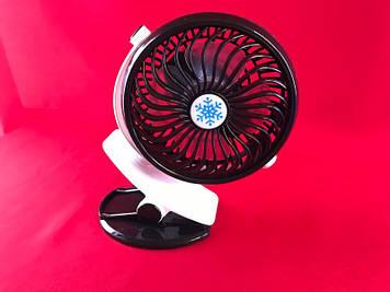 Настольный миниатюрный вентилятор на прищепке