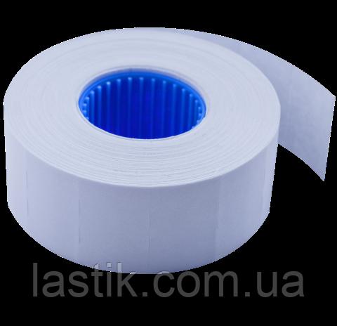 Ценник 26x16 мм (1000 шт, 12 м), прямоугольный, внутренняя намотка, белый, фото 2