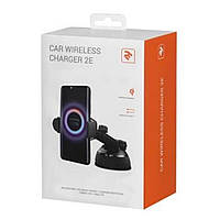 Зарядное устройство 2E Car Windsheild Wireless Charger, 10W, black (2E-WCQ01-06)
