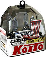Комплект ламп (2шт) Koito WhiteBeam III 2x HB3 4200K P0756W