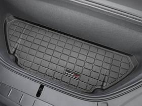 Килими гумові WeatherTech Tesla Model X 2016+ в переднє багажне відділення чорний