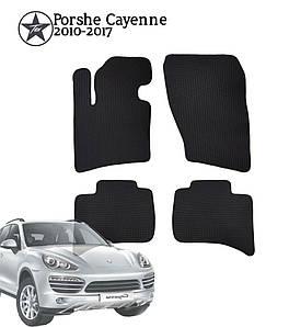 Коврики EVA в салон Porsche Cayenne 2010-2017. Star-Tex.