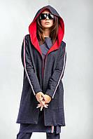 """Кардиган брендовый женский TM Garne """"Street"""" с объемным капюшоном (2 цвета, р.XS-2XL)"""