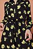 Платье чёрное с лимонами Catherines, фото 3