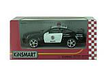 Машина. Автомодель металлическая 1:38 Ford Mustang GT Police КТ5091WP Kinsmart , фото 2