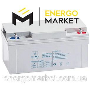Аккумулятор гелиевый AXIOMA energy AX-GEL-65 (12 В, 65 А/ч)