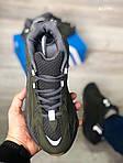 Мужские кроссовки Adidas Yeezy Boost 700 (зеленые) KS 1476, фото 5