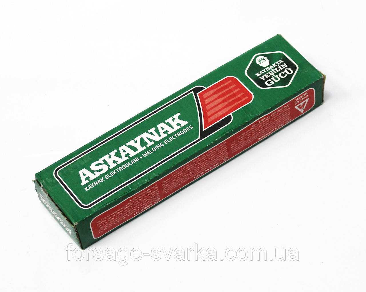 Электроды Askaynak AS P-308L Ø2.5мм, 1.8кг (для нержавейки)