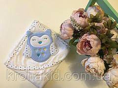 Детское полотенце-уголок для купания / полотенце с капюшоном / детское полотенце с уголком 90х90 см