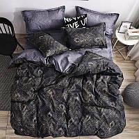 Постельное белье бязь голд, красивый двуспальный комплект Ночь