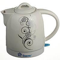 Электрочайник керамический Domotec 1.7 л чайник электрический
