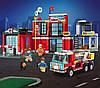 Конструктор Fire Rescue Пожарная часть 523 деталей Qman 2808, фото 6