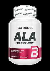 Альфа-липоевая кислота BioTech ALA (50 капс) биотеч ала