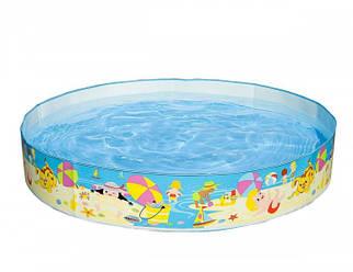 Открытый детский каркасный бассейн Intex 56451 Пляж