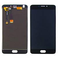 Дисплейный модуль (LCD дисплей + touch screen) для Meizu M5 Note Black