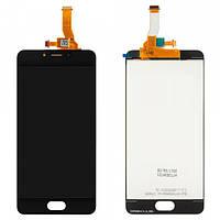 Дисплейный модуль (LCD дисплей + touch screen) для Meizu M5c Black
