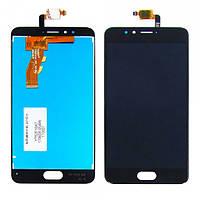 Дисплейный модуль (LCD дисплей + touch screen) для Meizu M5s Black