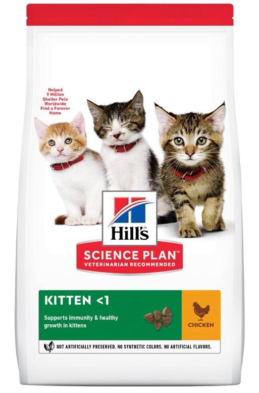 Корм Хіллс SP Kitten Ch з куркою для кошенят 0,3 кг