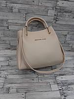 Женская стильная сумка с косметичкой
